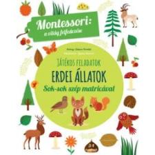 Maria Montessori Erdei állatok - A világ felfedezése készségfejlesztő