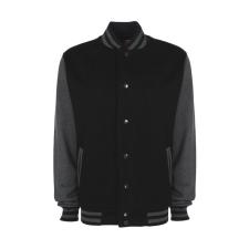 marka-logok-kicsi/fdm.jpg Női Kabát hosszú ujjú FDM College Jacket - XS, Fekete/szénszürke női dzseki, kabát