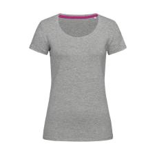 marka-logok-kicsi/stedman.jpg Női rövid ujjú póló Stedman Claire Crew Neck S, Heather szürke női póló