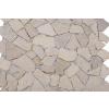 Márvány mozaik Garth, burkolat - krémszín