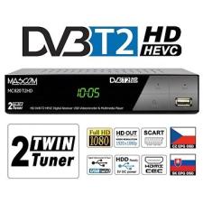Mascom MC820 T2 HD Twin Tuner H.265 HEVC műholdas beltéri egység