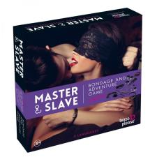 Master Master & Slave - kötözős játék szett (lila-fekete) társasjáték