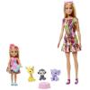 Mattel Barbie Az elveszett szülinap - Barbie és Chelsea játékszett