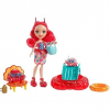 Mattel Enchantimals Cameo Crab - Chela és Courtney