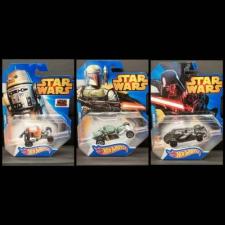 Mattel Hot Wheels - Star Wars autópálya és játékautó