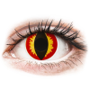 MaxVue Vision ColourVUE Crazy Lens - Dragon Eyes - dioptria nélkül (2 db lencse)