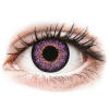 MaxVue Vision ColourVUE Glamour Violet - dioptria nélkül (2 db lencse)