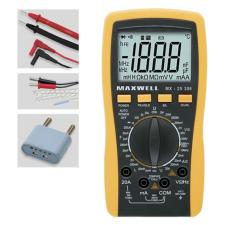 MAXWELL Digitális multiméter 25306 villanyszerelés