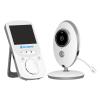 MBOSS Bébiőr VB605 Vezeték nélküli, Audio-Video megfigyelés, Hőmérséklet-figyelés, Kétirányú kommunikáció, Altatódalok, Éjszakai látás, Beépített akkumulátor