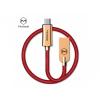 Mcdodo USB kábel USB-C konektorral Apple MacBook - 1.5m - piros