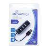 MediaRange USB 2.0 HUB 1-4 /MRCS502/