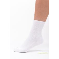 Medical, gumi nélküli zokni 5 pár - fehér 41-42