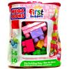 Mega Bloks 80 db lányos építőkocka táskában