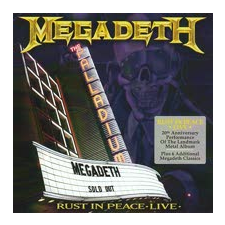 Megadeth Rust In Peace (CD+DVD) heavy metal