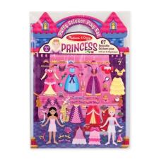 Melissa@Doug Melissa & Doug - Pufi matrica készlet, hercegnő matrica