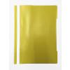 Memoris Gyorsfűző műanyag PP A4 SÁRGA 25db/csom