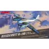 MENG 1/48 Messerschmitt Me-410B-2/U4 repülőgép modell
