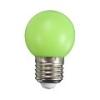 Mentavill Színes LED lámpa E27 (1W/200°) Kisgömb - zöld