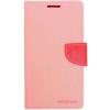 Mercury Goospery Mercury Fancy Diary Apple iPad Pro 12.9 kinyitható tok pink-sötétpink