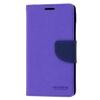 Mercury Goospery Mercury Fancy Diary Samsung G900 Galaxy S5 kinyitható tok lila-kék