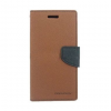 Mercury Goospery Mercury Fancy Diary Samsung G920 Galaxy S6 kinyitható tok barna-fekete