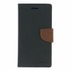 Mercury Goospery Mercury Fancy Diary Samsung T111 Galaxy Tab 3 Lite kinyitható tok fekete-barna