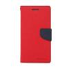 Mercury Goospery Mercury Fancy Diary Samsung T111 Galaxy Tab 3 Lite kinyitható tok piros-kék
