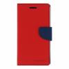 Mercury Goospery Mercury Fancy Diary Samsung T310 Galaxy Tab 3 8.0 kinyitható tok piros-kék