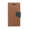 Mercury Goospery Mercury Fancy Diary Samsung T530 Galaxy Tab 4 10.1 kinyitható tok barna-fekete