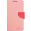 Mercury Goospery Mercury Fancy Diary Sony D5803 Xperia Z3 compact kinyitható tok pink-sötétpink