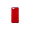 Mercury Goospery Mercury iJelly Samsung G930 Galaxy S7 fémhatású matt szilikon hátlapvédő piros