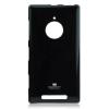 Mercury Goospery Mercury Jelly Nokia Lumia 830 hátlapvédő fekete