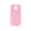 Mercury Goospery Mercury Jelly Samsung G900F Galaxy S5 hátlapvédő pink