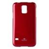 Mercury Goospery Mercury Jelly Samsung G900F Galaxy S5 hátlapvédő piros