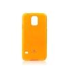 Mercury Goospery Mercury Jelly Samsung G925 Galaxy S6 Edge fluoreszkáló hátlapvédő narancssárga