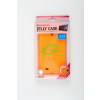 Mercury Goospery Mercury Jelly Samsung I9500 Galaxy S4 fluoreszkáló hátlapvédő narancs