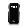 Mercury Goospery Mercury Jelly Samsung J100 Galaxy J1 hátlapvédő fekete
