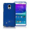 Mercury Goospery Mercury Jelly Samsung N910 Galaxy Note 4 hátlapvédő sötétkék