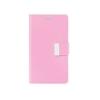 Mercury Goospery Mercury Rich Diary Samsung I9500, I9505 Galaxy S4 kinyitható tok pink-sötétpink
