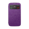Mercury Goospery Mercury Viva Window Apple iPhone 4G/4S oldalra nyitható ablakos tok lila