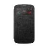 Mercury Goospery Mercury Viva Window Samsung N9000 / N9005 Galaxy Note 3 oldalra nyitható ablakos tok fekete