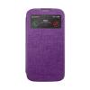 Mercury Goospery Mercury Viva Window Samsung N910 Galaxy Note 4 oldalra nyitható ablakos tok lila