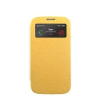 Mercury Goospery Mercury Wow Bumper Samsung G313 Galaxy Trend 2 Duos ablakos kinyitható tok sárga