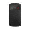 Mercury Goospery Mercury Wow Bumper Samsung G900 Galaxy S5 ablakos kinyitható tok fekete