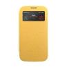 Mercury Goospery Mercury Wow Bumper Samsung G920 Galaxy S6 ablakos kinyitható tok sárga