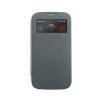 Mercury Goospery Mercury Wow Bumper Samsung N910 Galaxy Note 4 ablakos kinyitható tok szürke