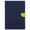 """Mercury védő flip cover borító csiszolt textúrával és beépített állvánnyal Apple iPad Air / iPad 9.7"""" (2017) / iPad 2018 - zöld / kék"""