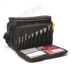 Merevfalú, multifunkciós táska