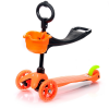 Meteor Three Wheel 2in1 roller - Orange