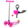 Meteor Three Wheel 2in1 roller - pink
